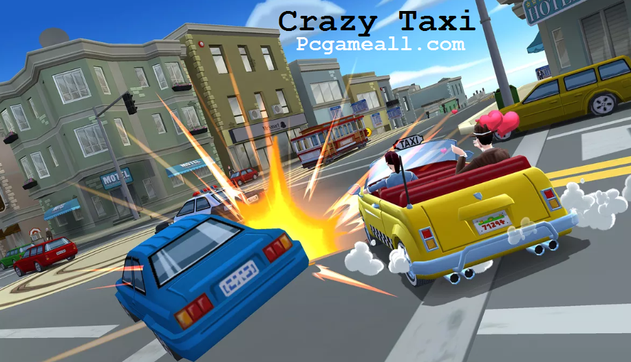 Crazy Taxi Highly Compressed